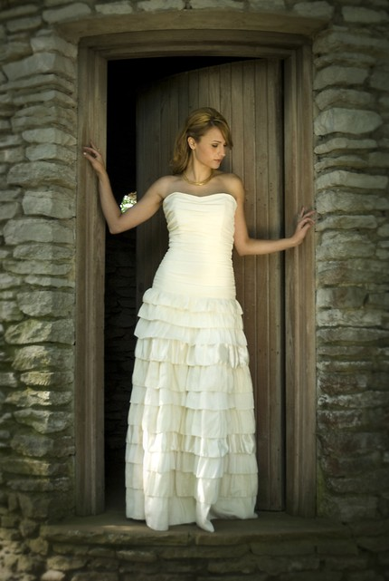 enviromentally friendly wedding dress