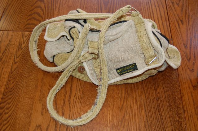 Earth Divas Hemp Purse